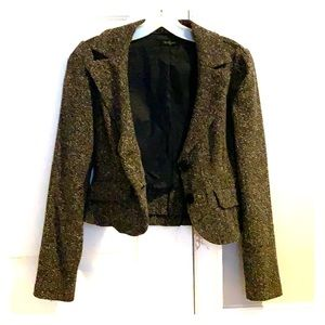 Brown Blazer Jacket